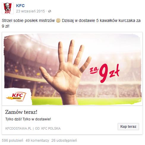 RTM - reklama KFC