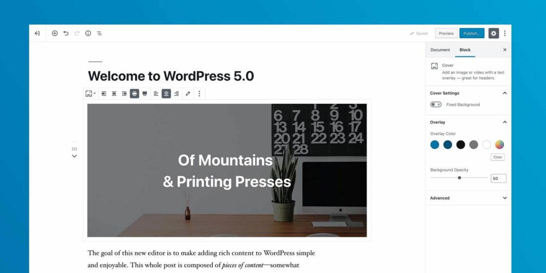 Strony WWW | WordPress 5.0. Co powinieneś wiedzieć o nowej wersji? | Rafał Baraniecki
