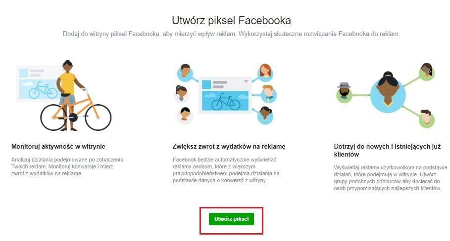 Tworzenie piksela fb. Inmarketing