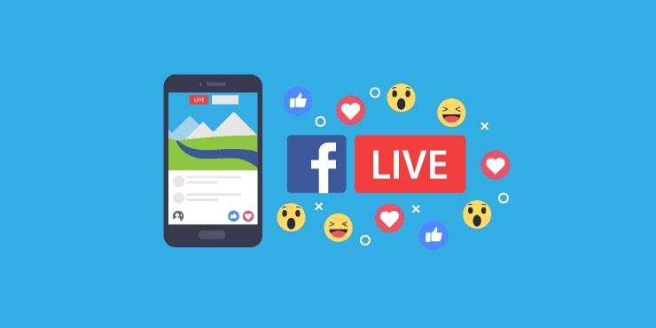 transmisja na żywo w mediach społecznościowych. Inmarketing.