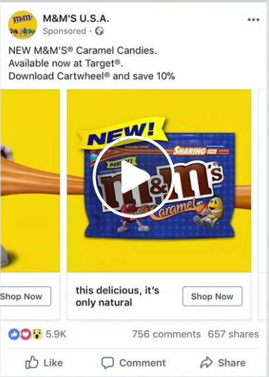reklama karuzeolowa na facebooku