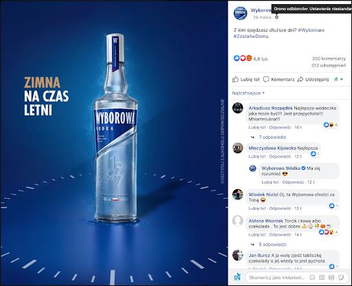 Reklama alkoholu przykład
