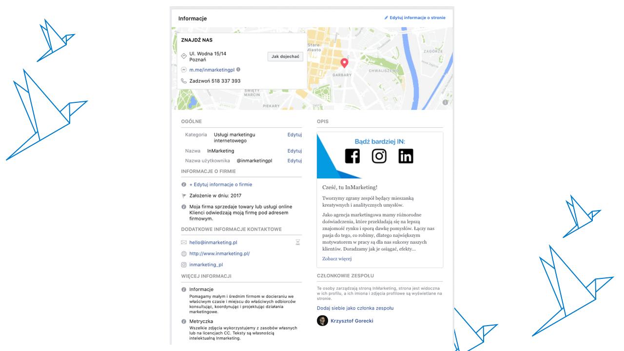Jak stworzyć stronę na Facebooku? - informacje