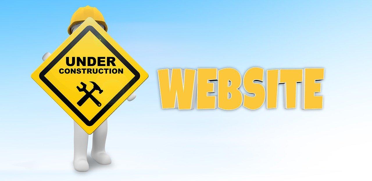 Strony internetowe w budowie