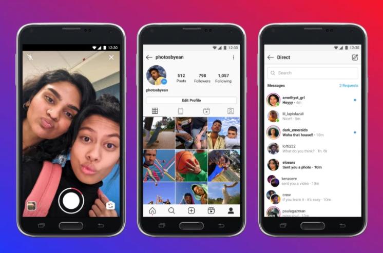 Instagram Lite media społecznościowe
