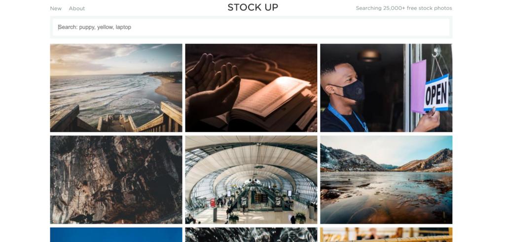 Stock Up - baza zdjęć stockowych