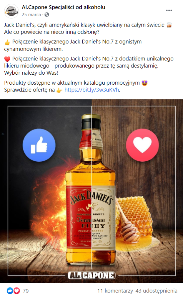 Jakie posty na Facebooku?