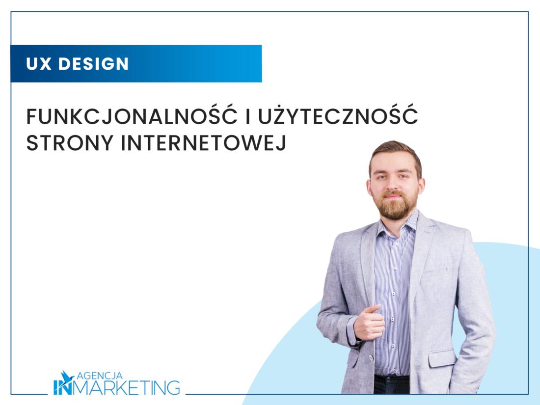 Funkcjonalność i użyteczność strony internetowej Agencja InMarketing