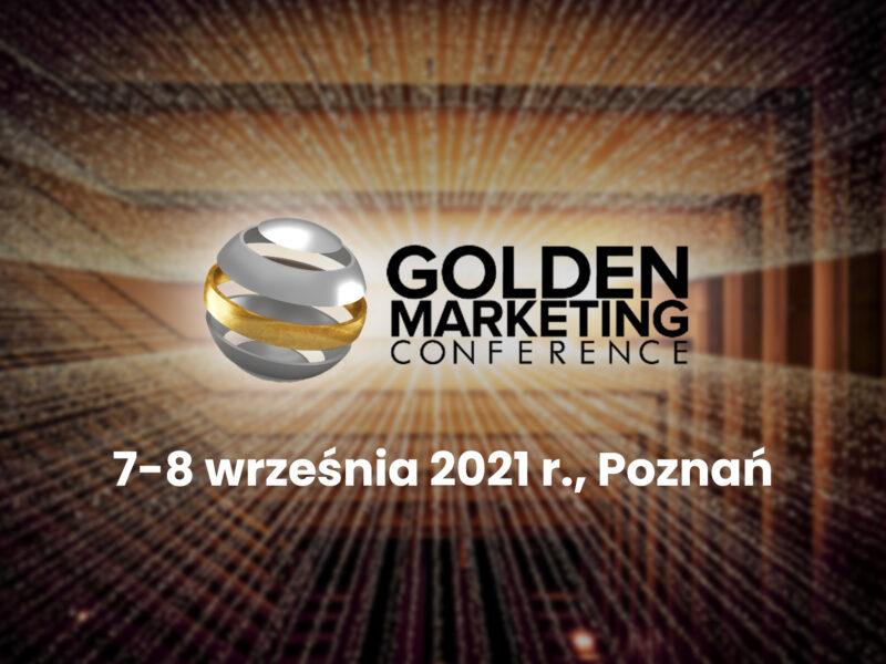 Zostaliśmy partnerem medialnym Golden Marketing Conference 2021! Agencja inmarketing